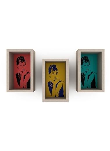 Rafevi Audrey Raf (Trilogy) 3lü Renkli